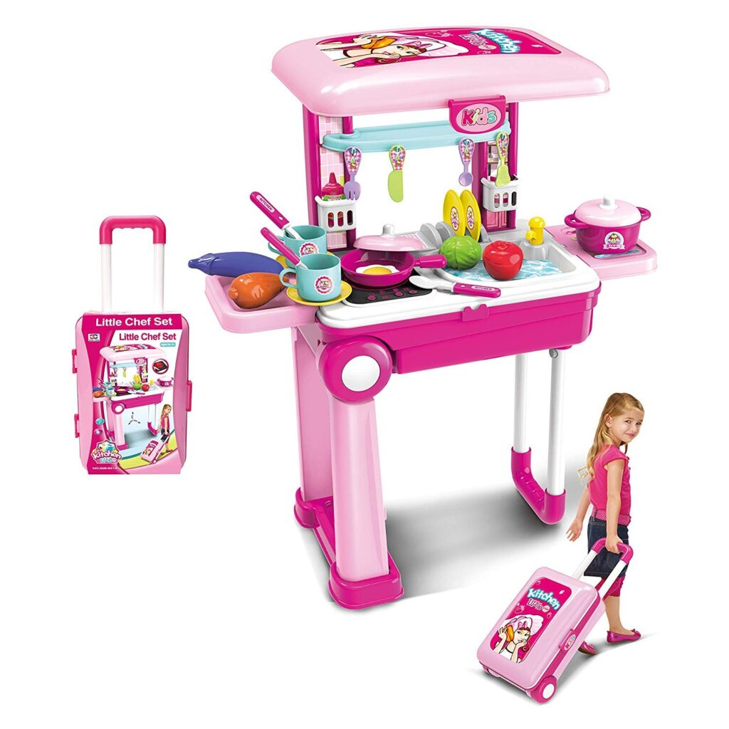 Best Trolley Kitchen Set For Girl By Tabu Toys World Online India 2021